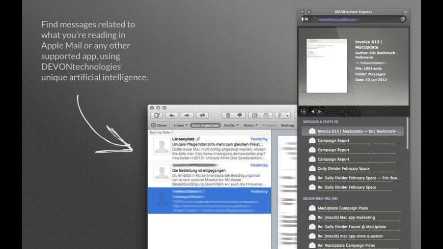 DEVONsphere Express for Mac - review, screenshots