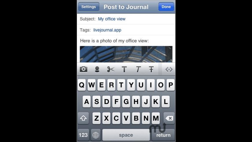 LiveJournal.app for Mac - review, screenshots