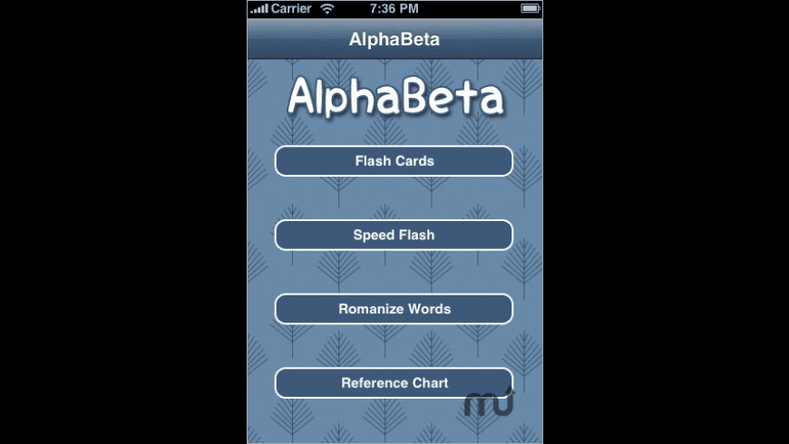 AlphaBeta for Mac - review, screenshots