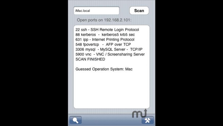 Portscan for Mac - review, screenshots