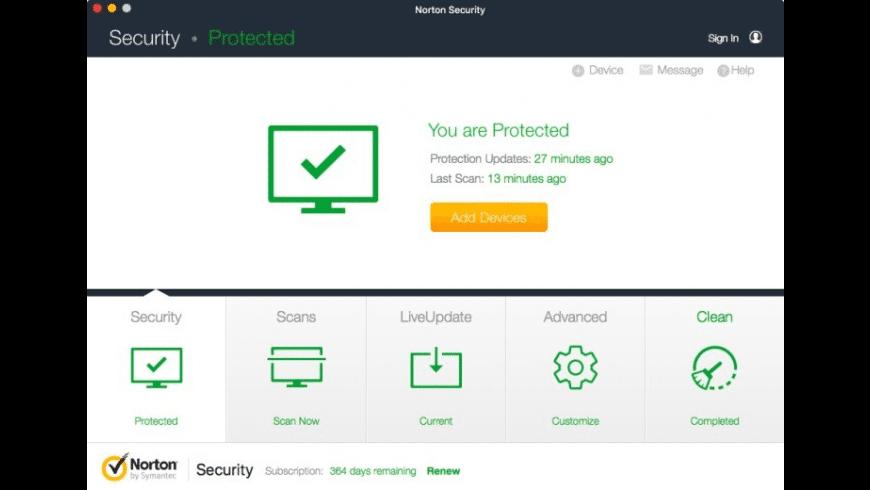 Norton Security for Mac - review, screenshots