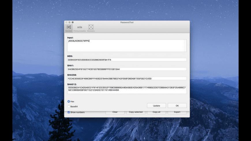 PasswordTool for Mac - review, screenshots