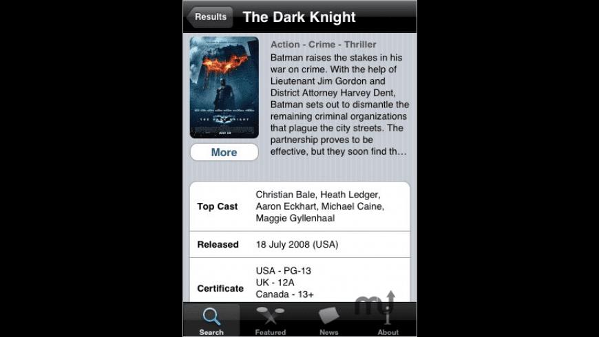 MovieStar for Mac - review, screenshots