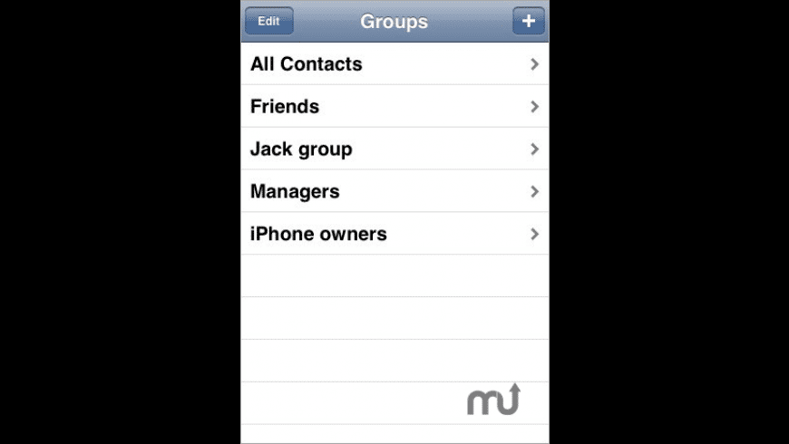 ABGroups for Mac - review, screenshots