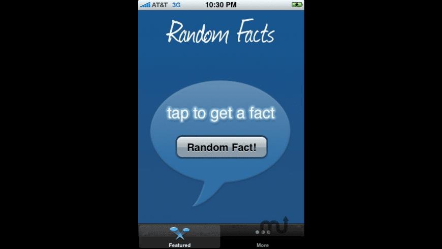 Random Facts for Mac - review, screenshots