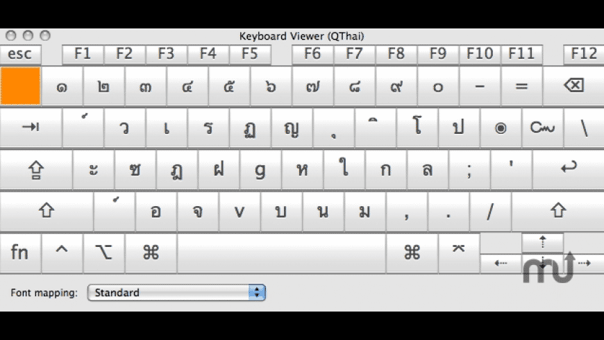 QThai for Mac - review, screenshots