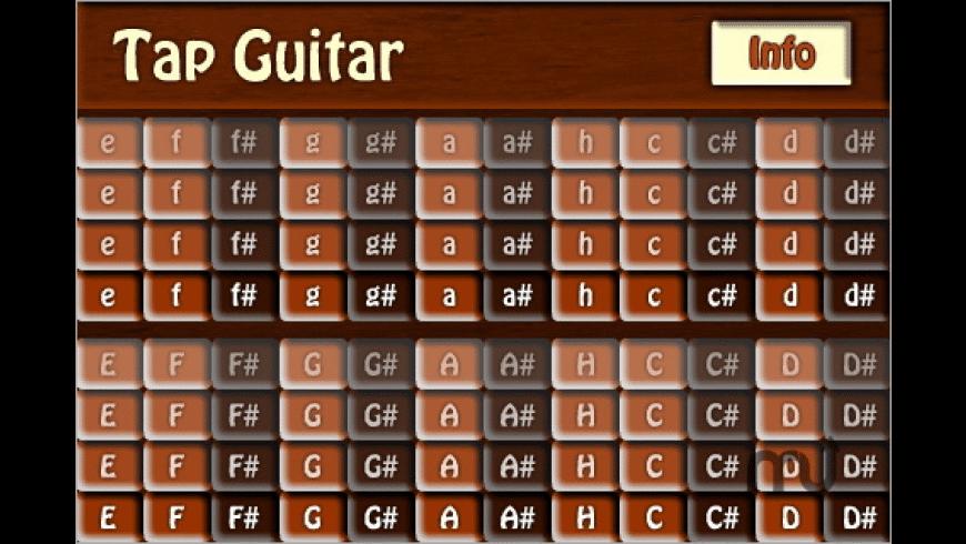 Tap Guitar for Mac - review, screenshots