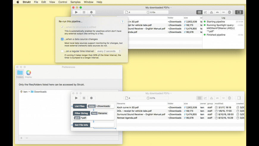Strukt for Mac - review, screenshots