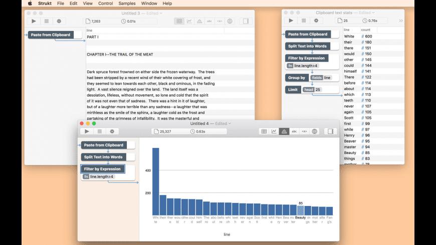 Strukt for Mac - review, screenshots
