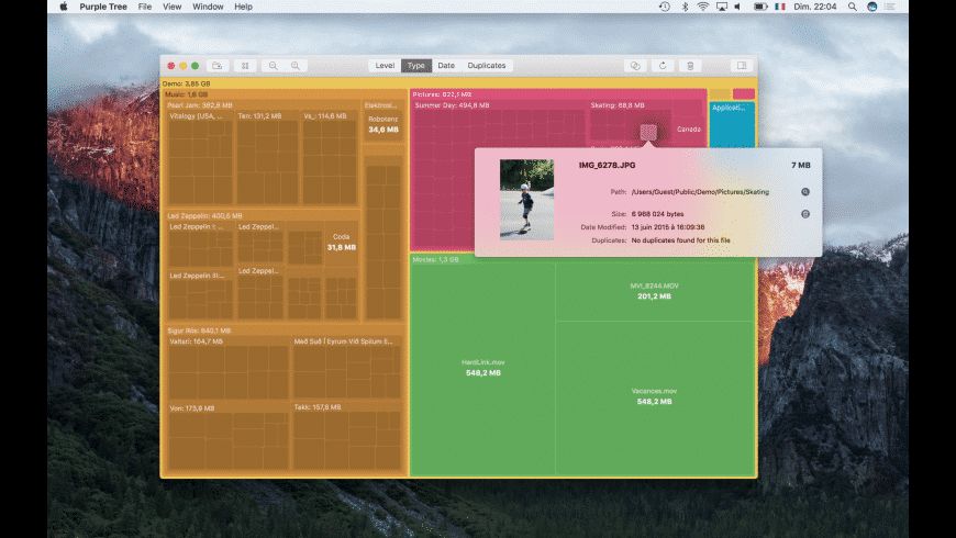 Purple Tree for Mac - review, screenshots