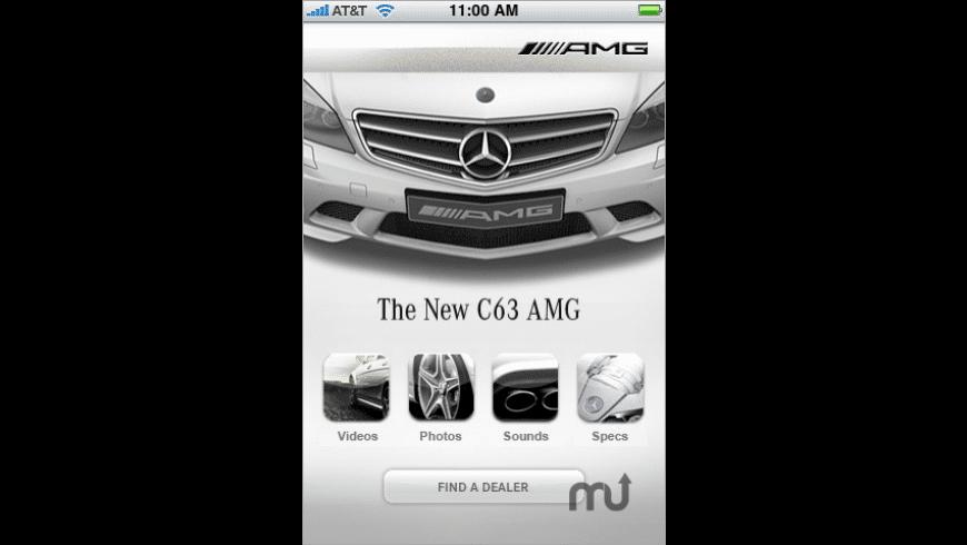 Mercedes-Benz C63 AMG App for Mac - review, screenshots