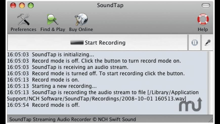 SoundTap for Mac - review, screenshots