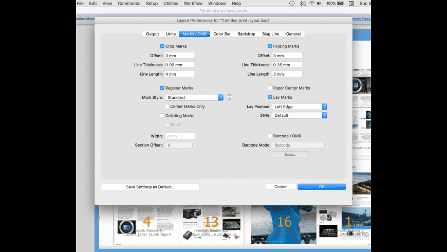 Imposition Studio for Mac - review, screenshots