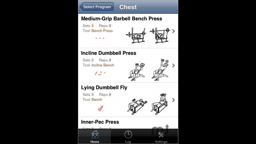 iStayFit for Mac - review, screenshots