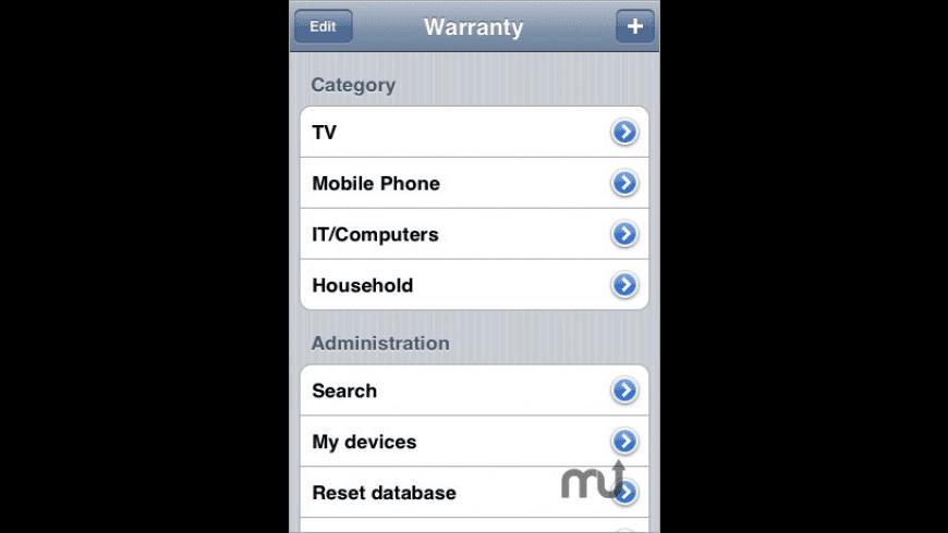 Warranty for Mac - review, screenshots