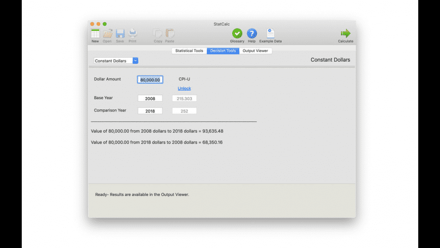 StatCalc for Mac - review, screenshots