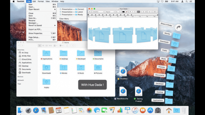 Hue Dada for Mac - review, screenshots