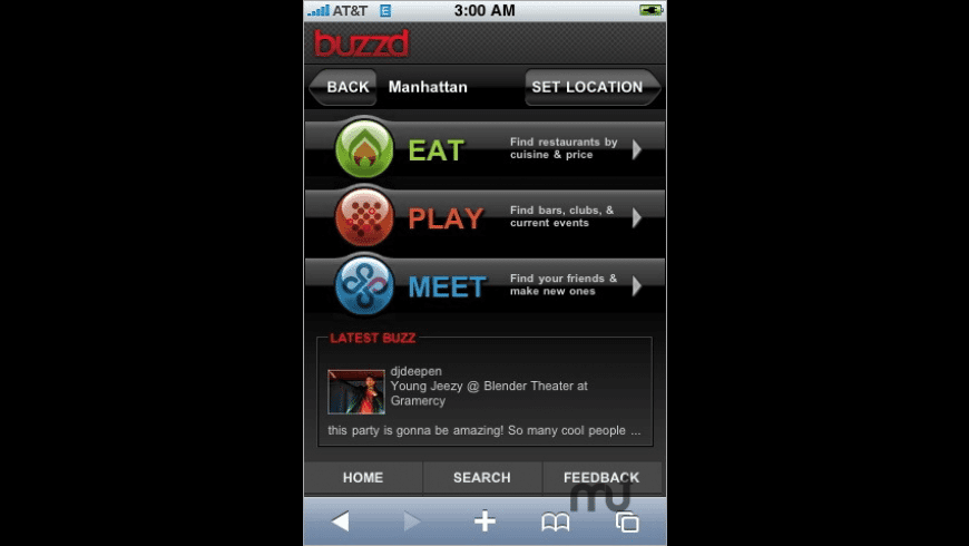 buzzd for Mac - review, screenshots