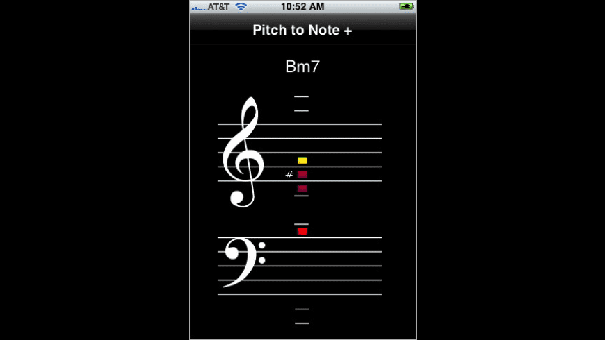 Pitch to Note + for Mac - review, screenshots