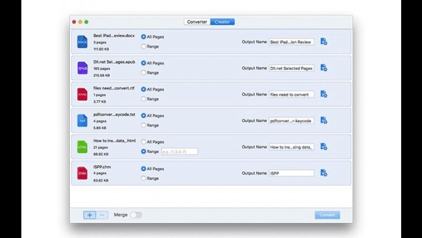Cisdem PDF Converter for Mac - review, screenshots