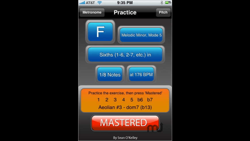 Practice for Mac - review, screenshots