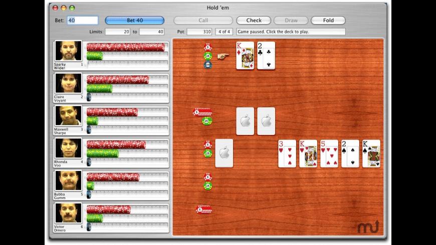 iPoker for Mac - review, screenshots