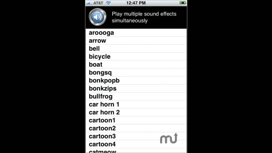SoundFX for Mac - review, screenshots