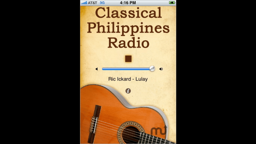 Classical Philippines Radio for Mac - review, screenshots