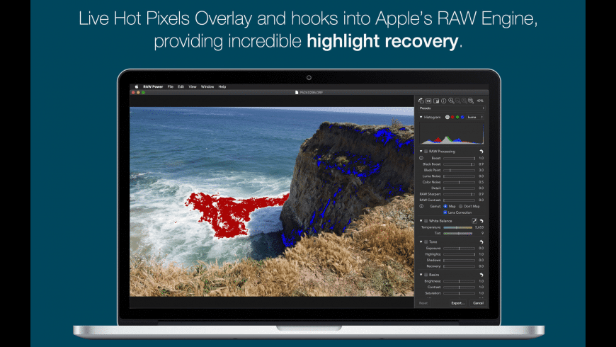 RAW Power for Mac - review, screenshots