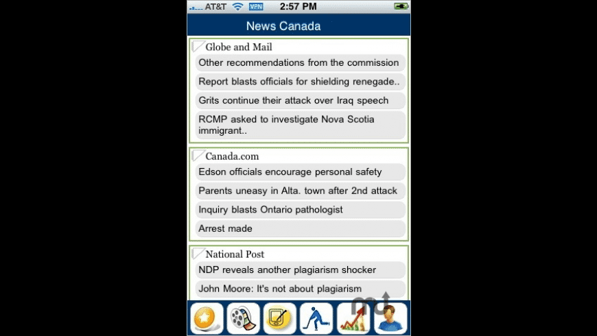 News Canada Plus for Mac - review, screenshots