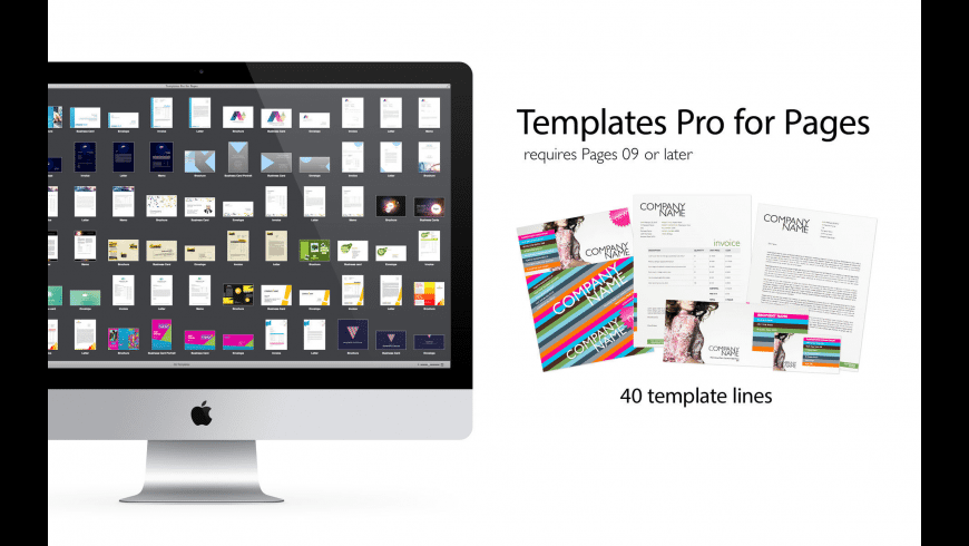 Expert Pro Templates for Pages for Mac - review, screenshots