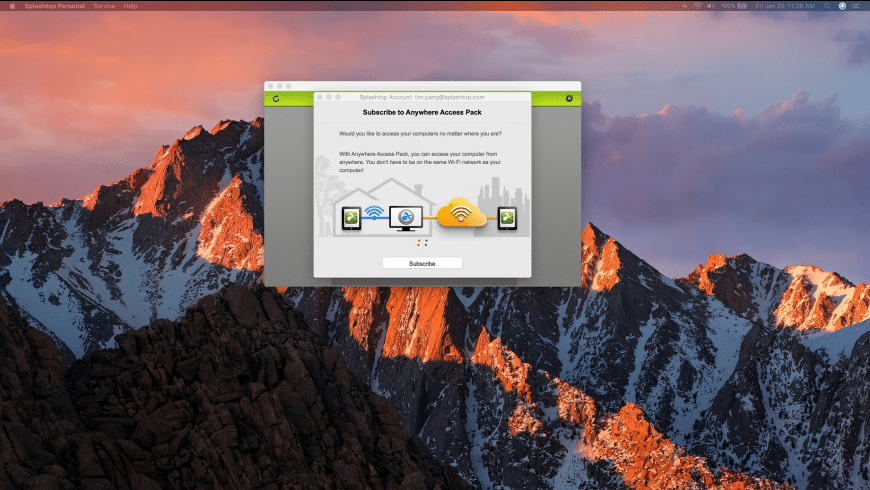 Splashtop Personal for Mac - review, screenshots
