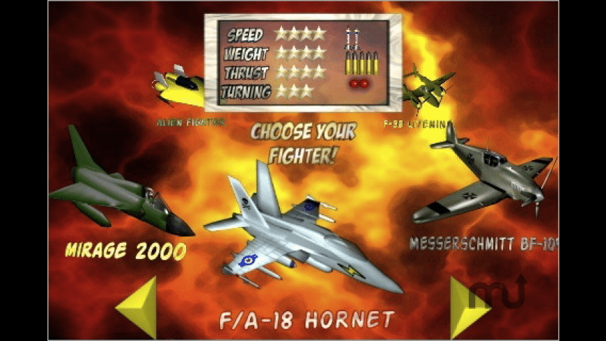 Fighter Pilot for Mac - review, screenshots