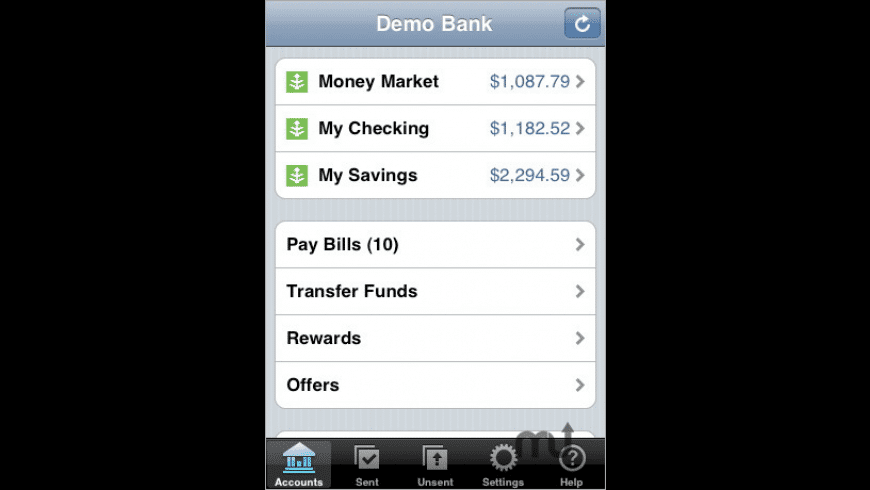 Mobile Banking on AT&T for Mac - review, screenshots