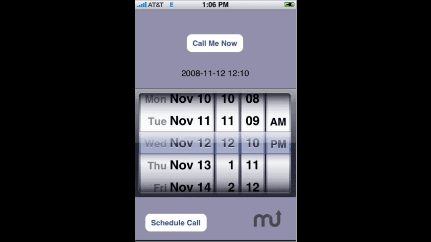 Call Me Back! for Mac - review, screenshots