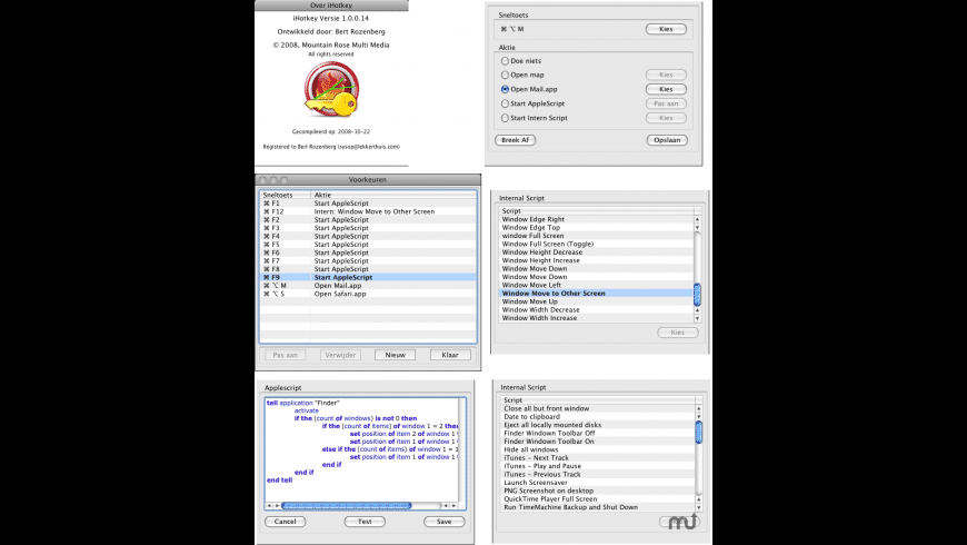 iHotKey for Mac - review, screenshots