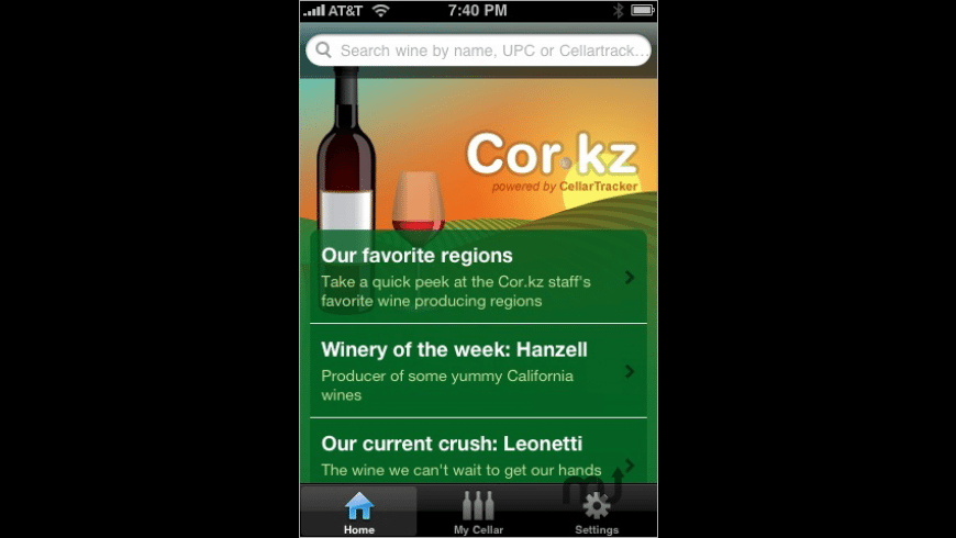 Cor.kz Wine Info for Mac - review, screenshots