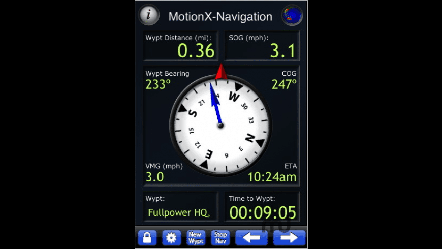 MotionX GPS Lite for Mac - review, screenshots