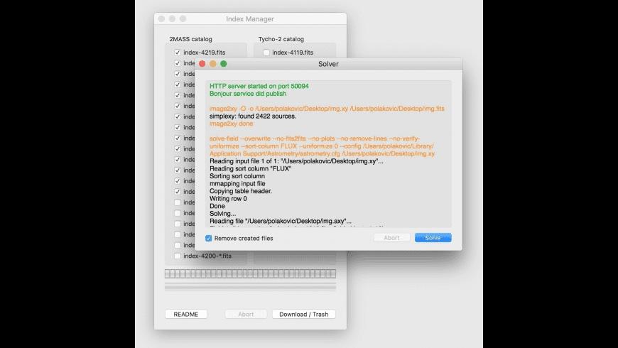 Astrometry for Mac - review, screenshots