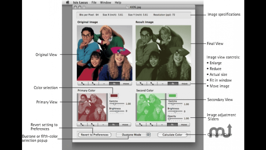 Isis Locus for Mac - review, screenshots