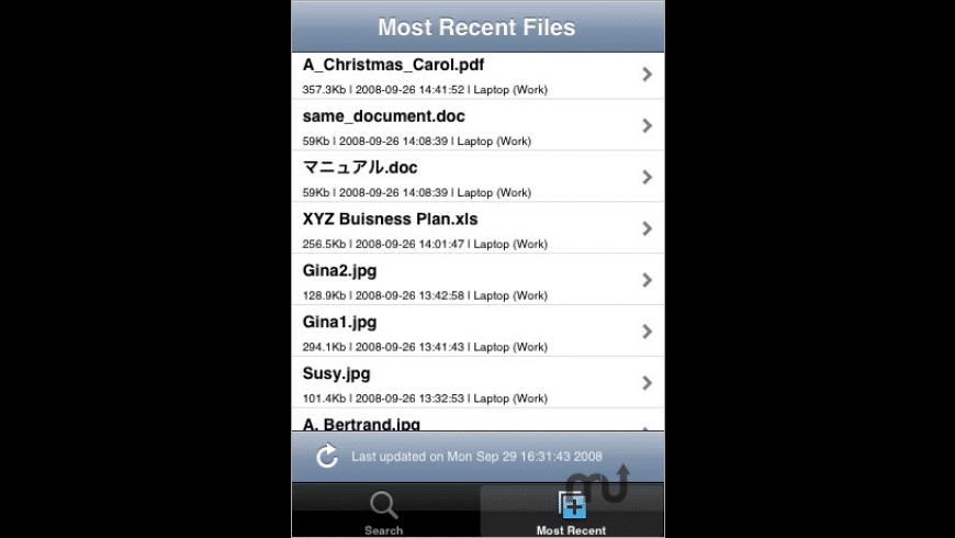 Memopal for iPhone for Mac - review, screenshots