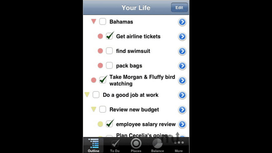 Life Balance for Mac - review, screenshots
