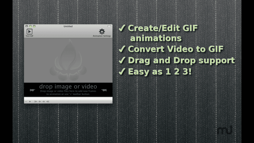 GIF Animator for Mac - review, screenshots