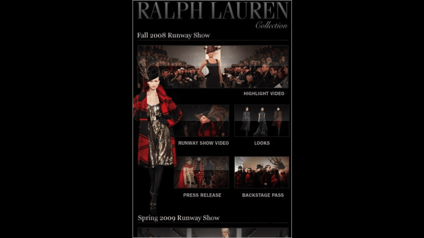 Ralph Lauren for Mac - review, screenshots