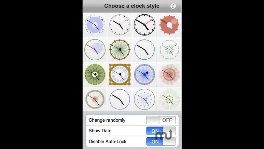 White Clocks for Mac - review, screenshots