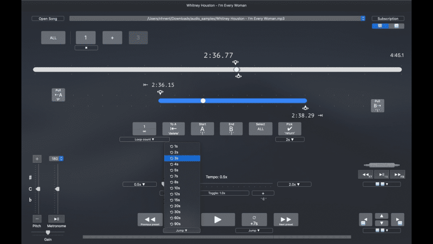 Loopman for Mac - review, screenshots