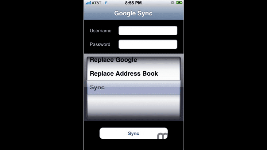 GSyncAir for Mac - review, screenshots