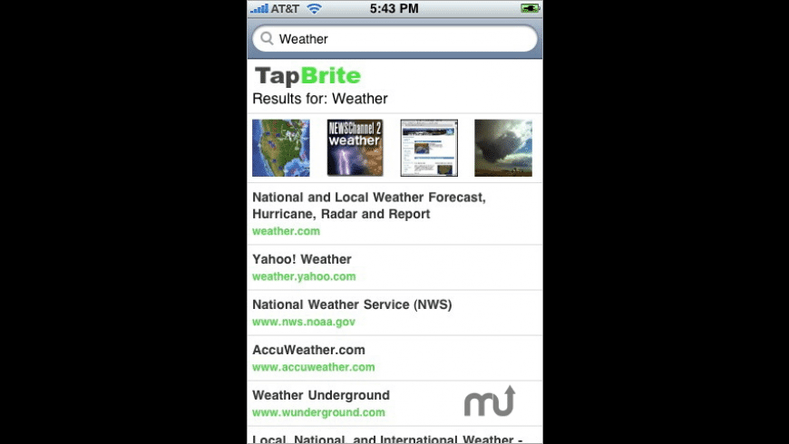 TapBrite for Mac - review, screenshots