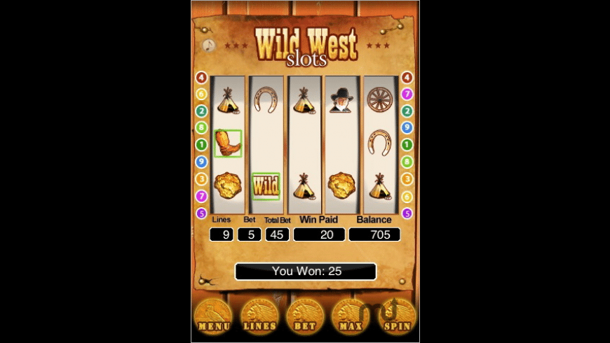 Kenny Rogers - Wild West Slots for Mac - review, screenshots