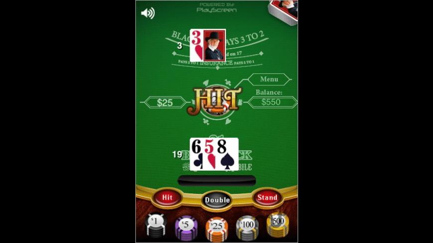 Kenny Rogers - Blackjack for Mac - review, screenshots